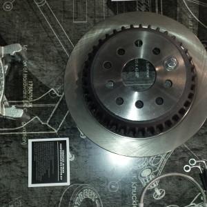 Rear big rotor